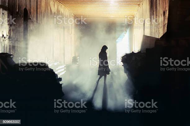 Mysterious Woman Stock Photo - Download Image Now