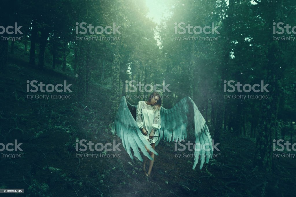 mystery and feelings stock photo