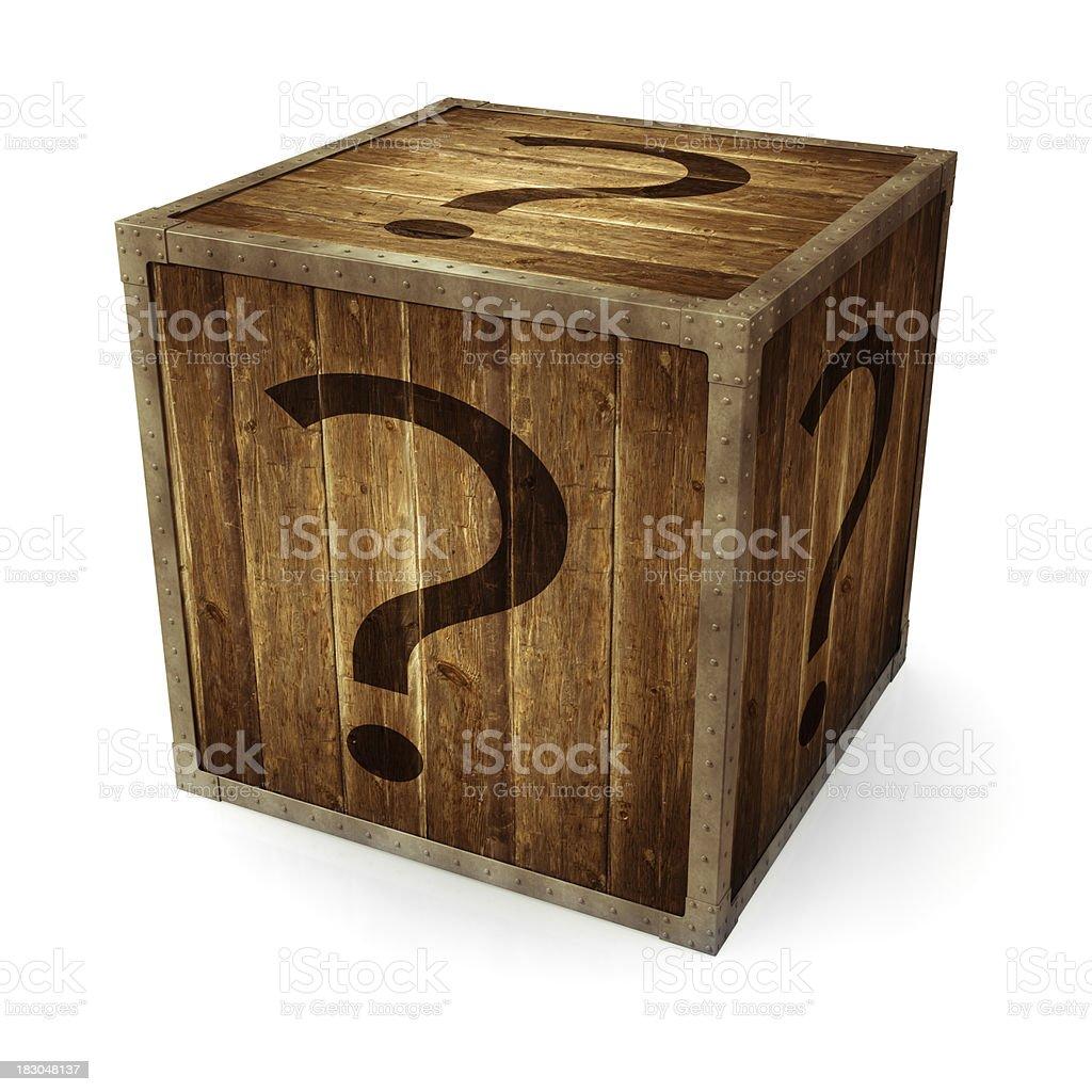 Mystery Box stock photo