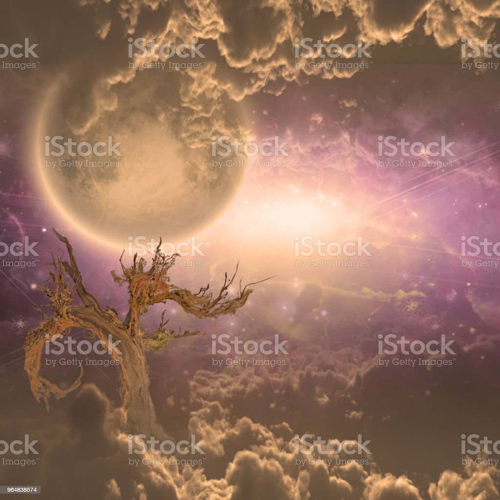 Mystery Clouds royalty-free stock photo