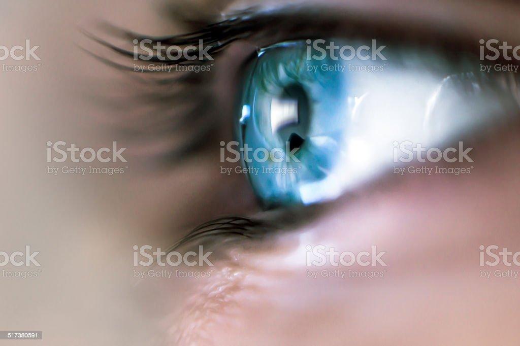 Mystery Eye stock photo