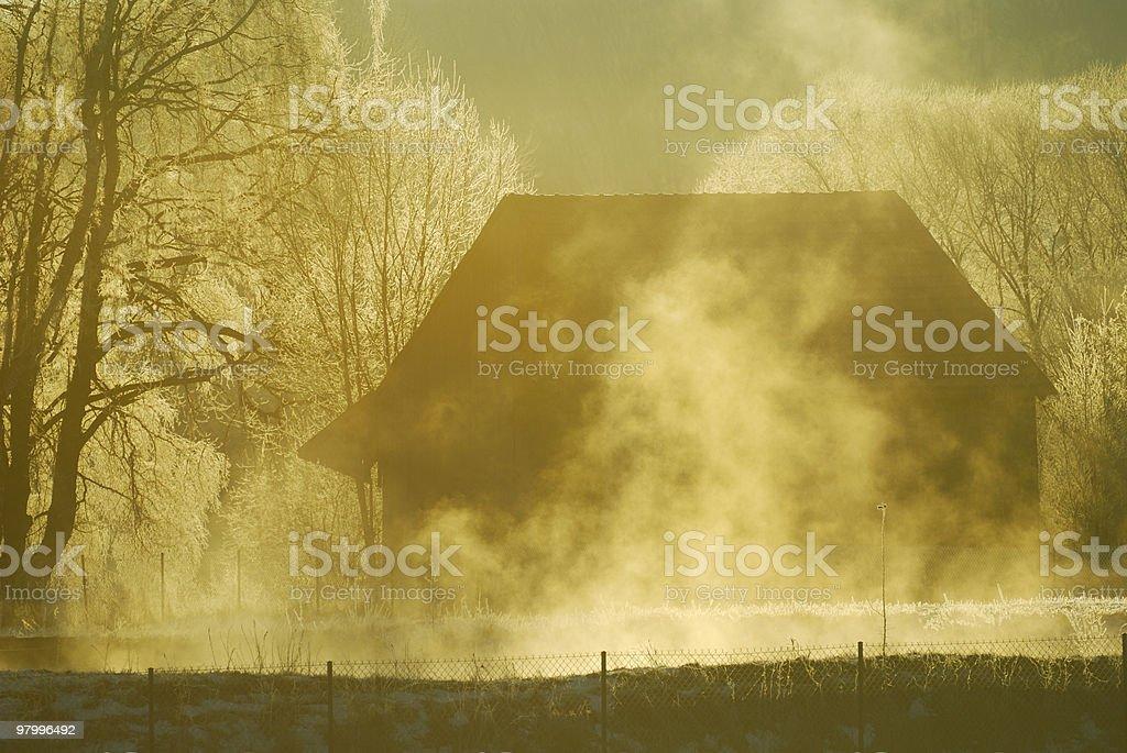 Mystery house royalty free stockfoto