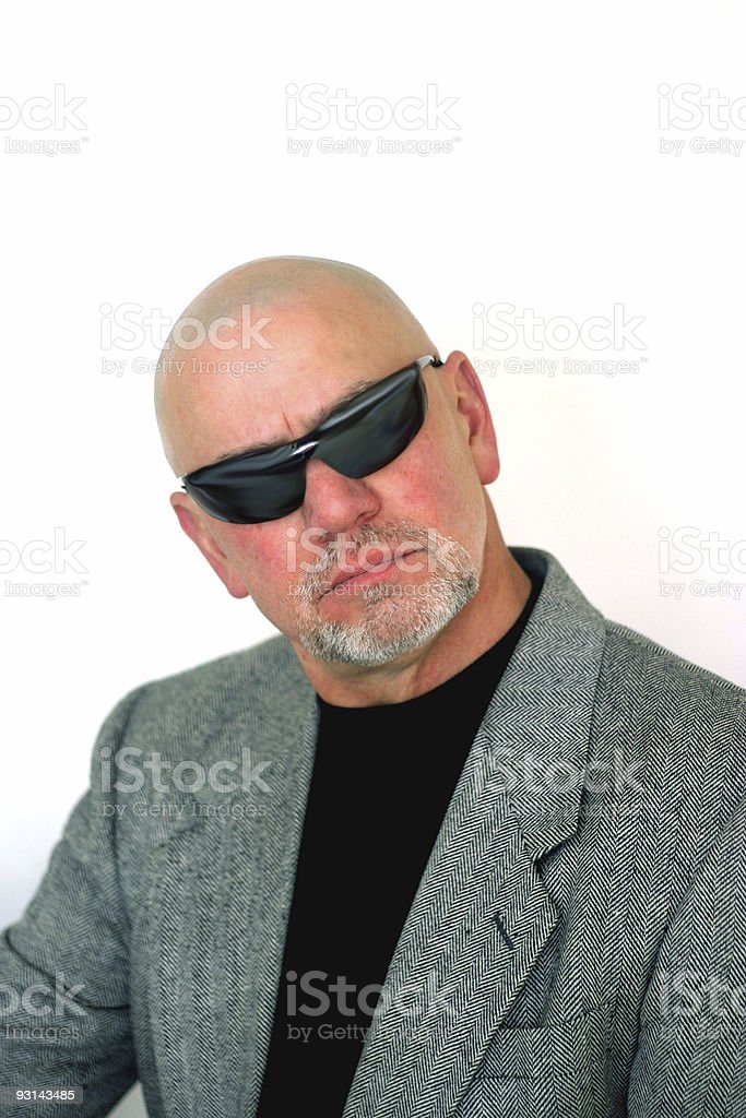 Mystery Man 3 stock photo