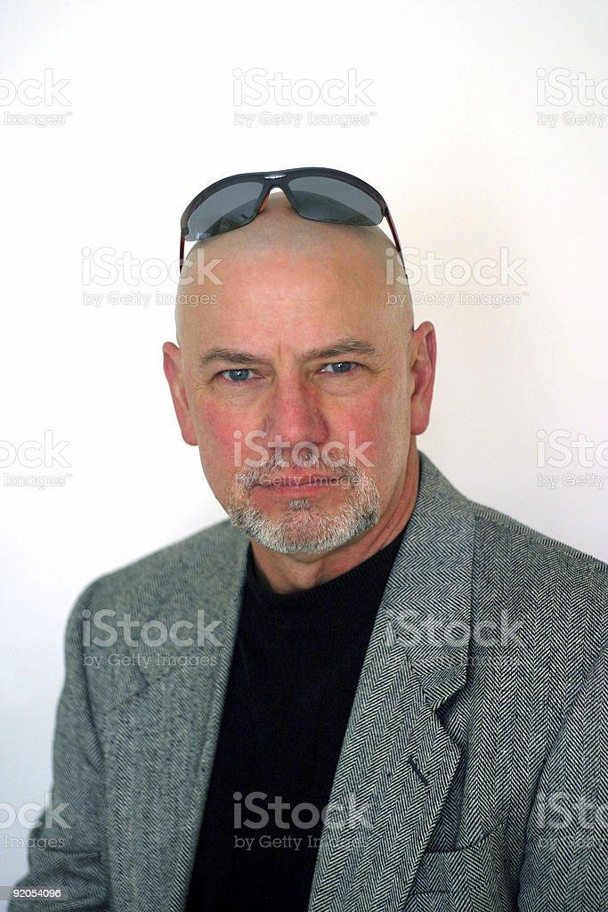 Mystery Man 4 stock photo