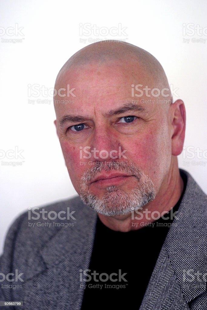Mystery Man 5 stock photo