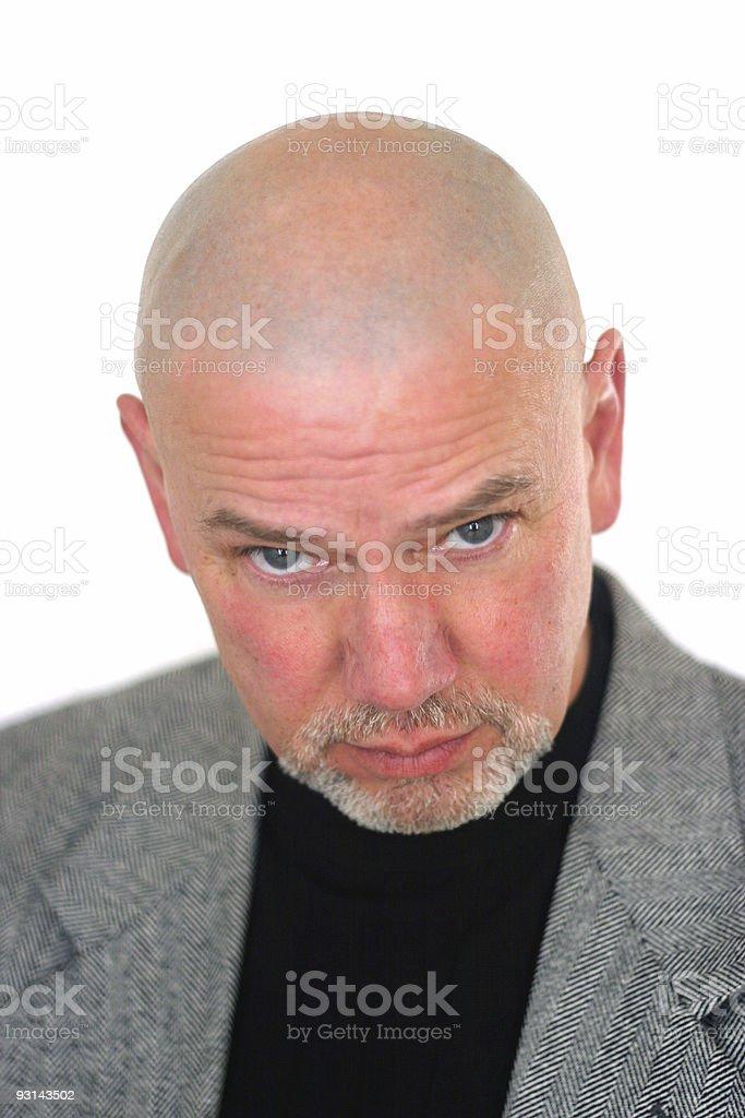 Mystery Man 6 stock photo