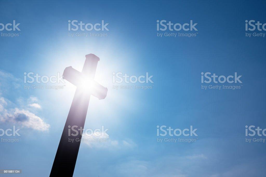 Geheimnis des Kreuzes (Symbol des Glaubens) – Foto