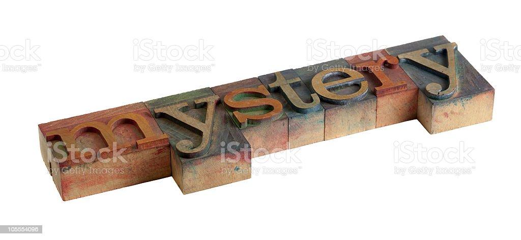 mystery stock photo