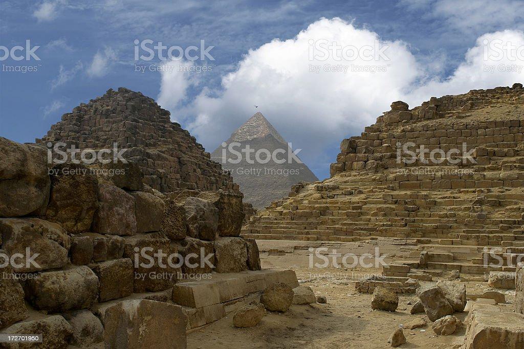 Mystery Pyramids royalty-free stock photo