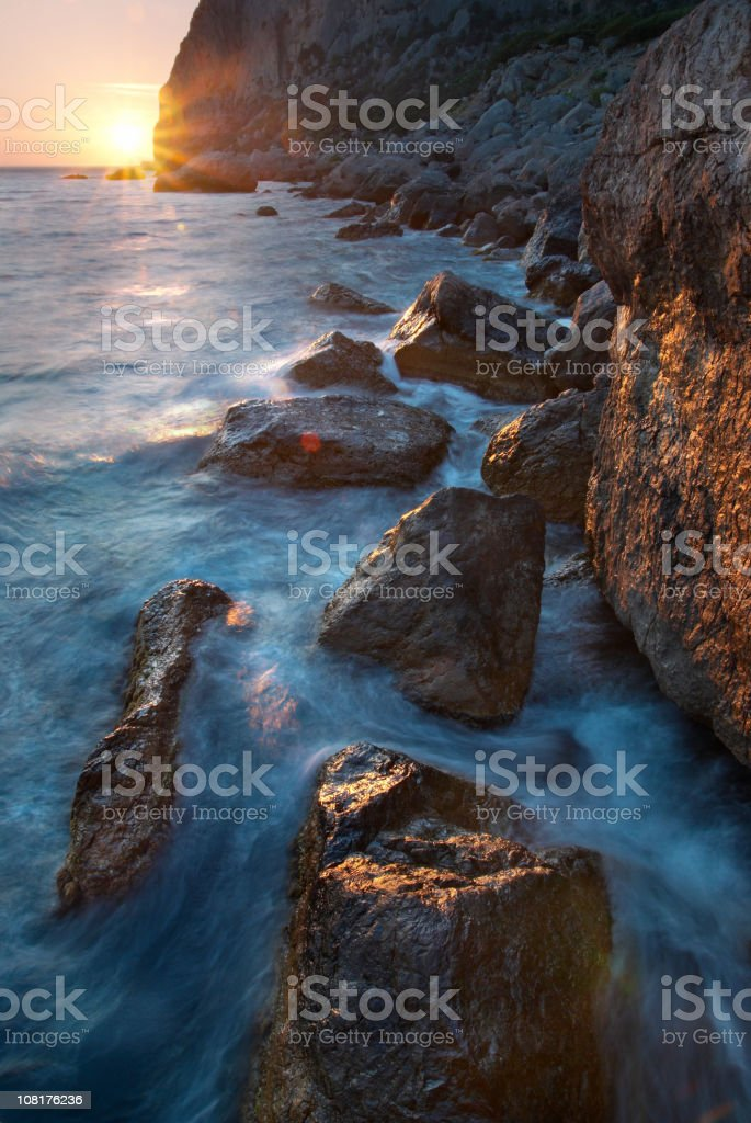 mystery sea royalty-free stock photo