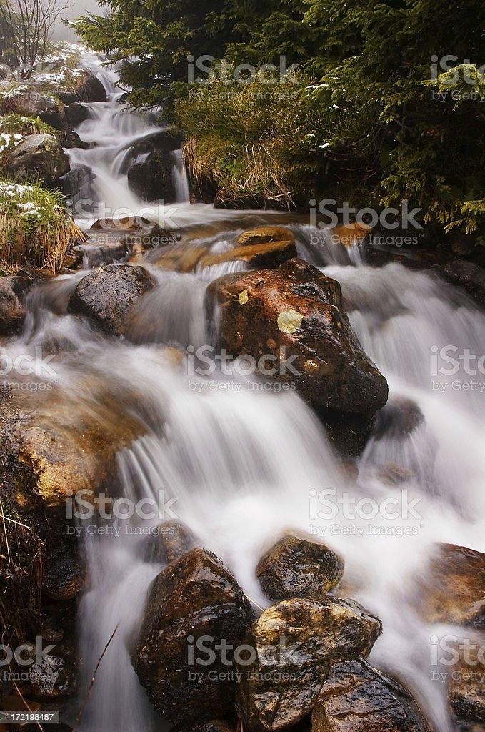 mystery stream royalty-free stock photo