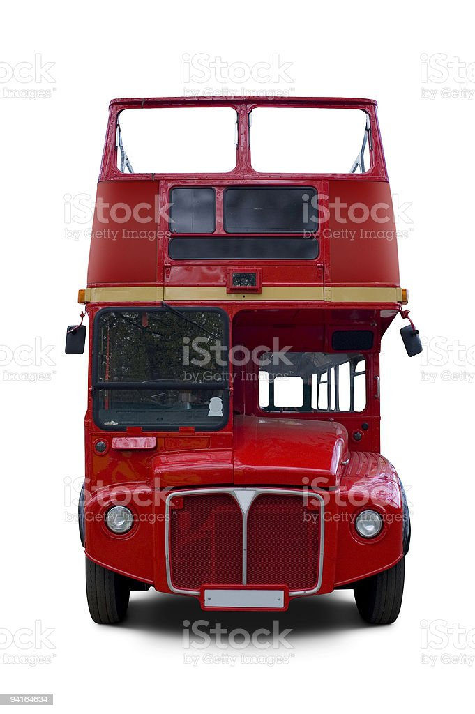 Mystery tour bus stock photo
