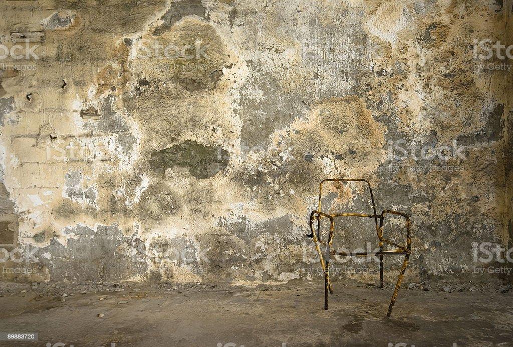 mystery wall royalty-free stock photo