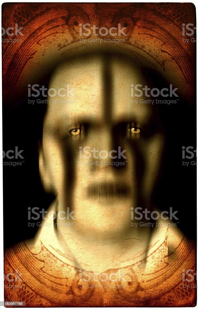 Mystic Card - Demon royalty-free stock photo