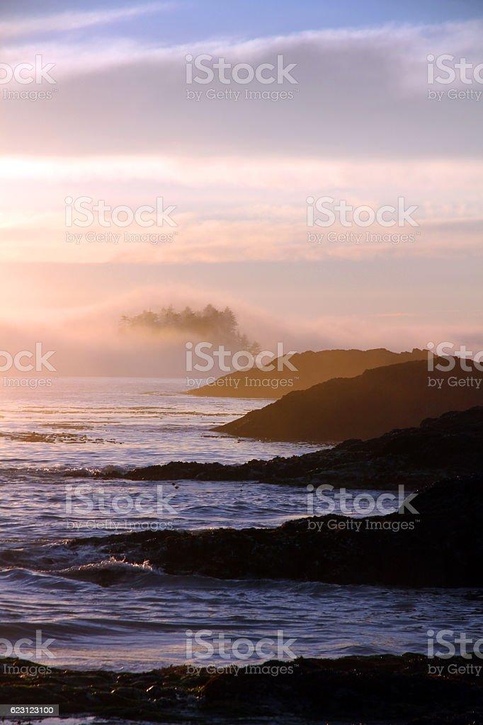 Mystic Headland stock photo
