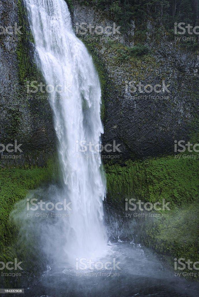 Mystic Mondlicht Wasserfall (XXXL – Foto