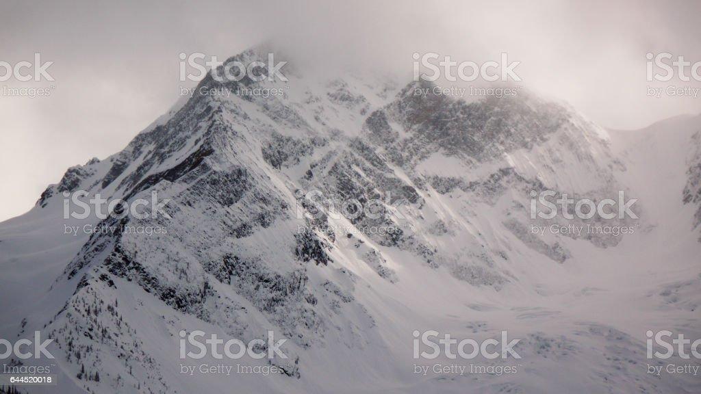 Mystic mountain stock photo