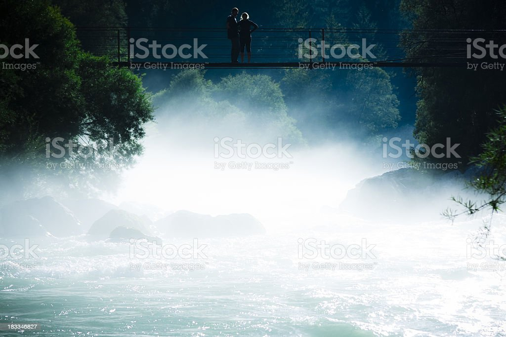 mystic river royalty-free stock photo