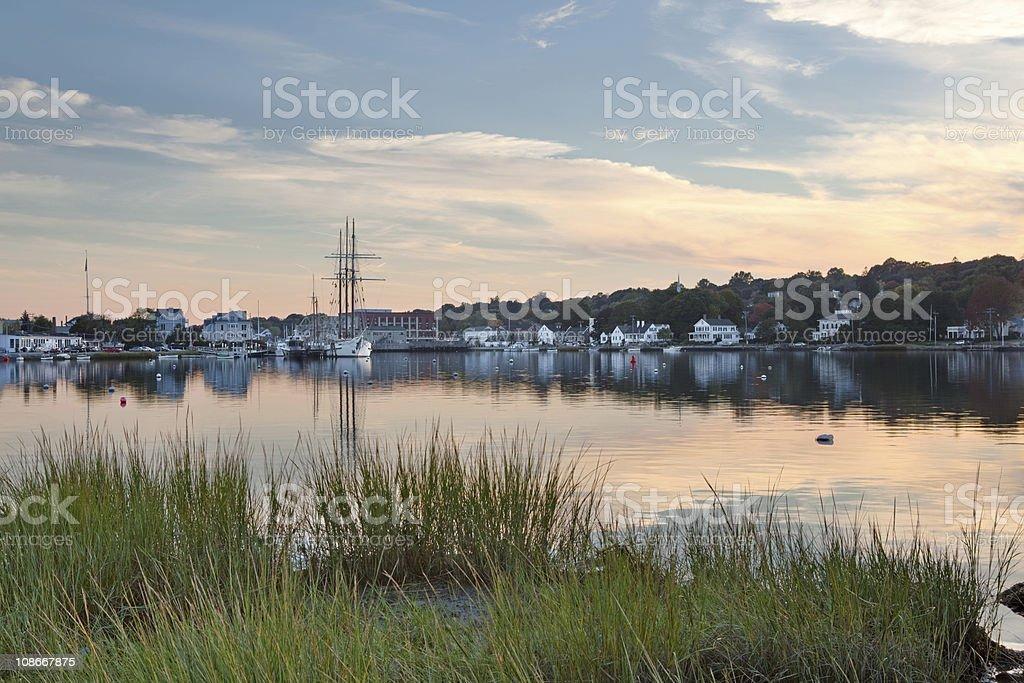 Mystic Seaport, CT stock photo
