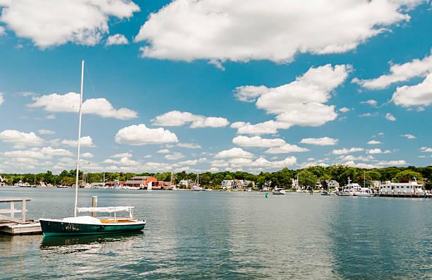Mystic Seaport CT stock photo