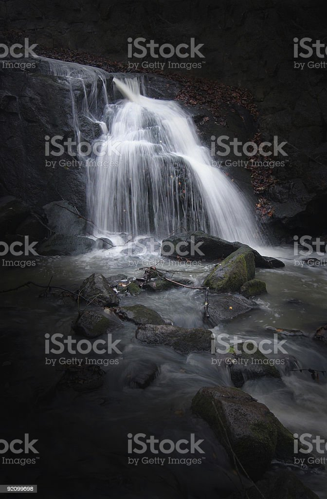 Mystic Waterfall royalty-free stock photo