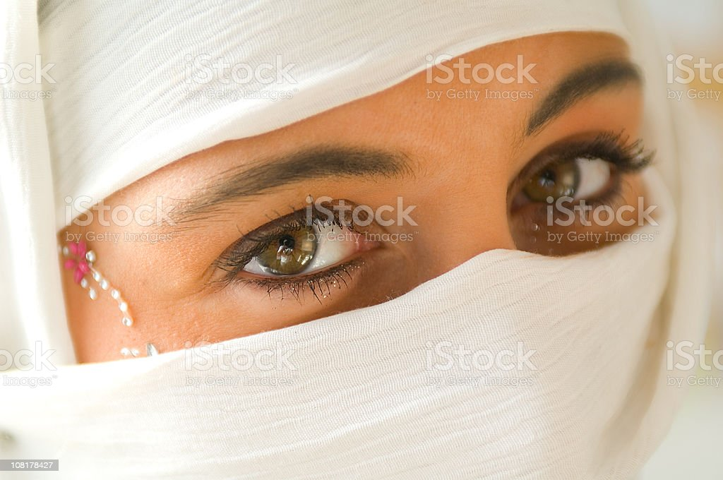 mystical eyes... stock photo