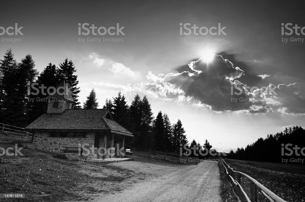Mystical landscape royalty-free stock photo