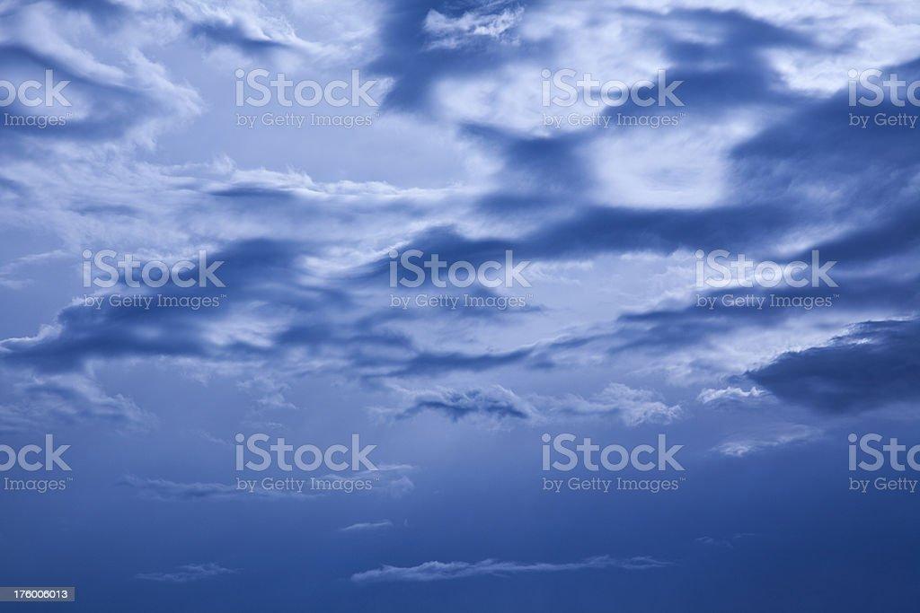mystical sky royalty-free stock photo
