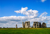 Historic Stonehenge rock formation landmark nearthe Salisbury , UK