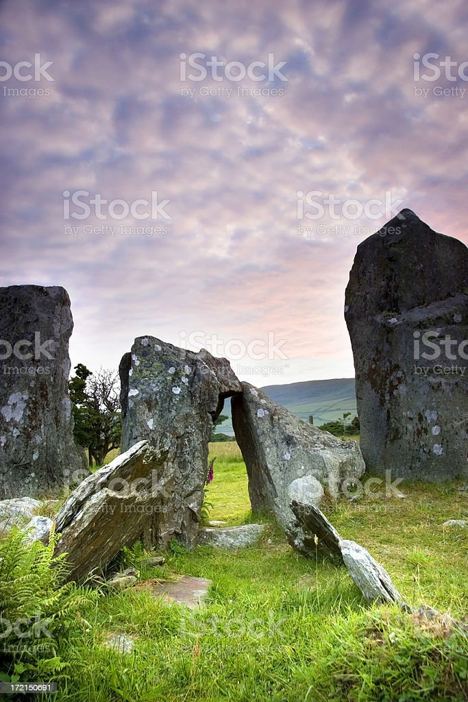 Mythical burial Ground stock photo