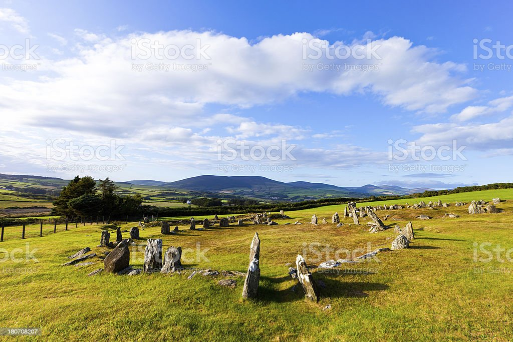 Mythical Burial Ground royalty-free stock photo