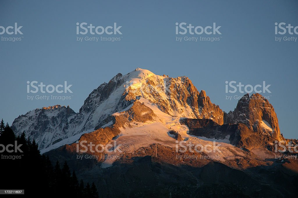 Mythical moutains royalty-free stock photo