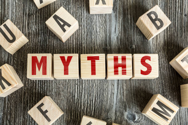 Myths stock photo