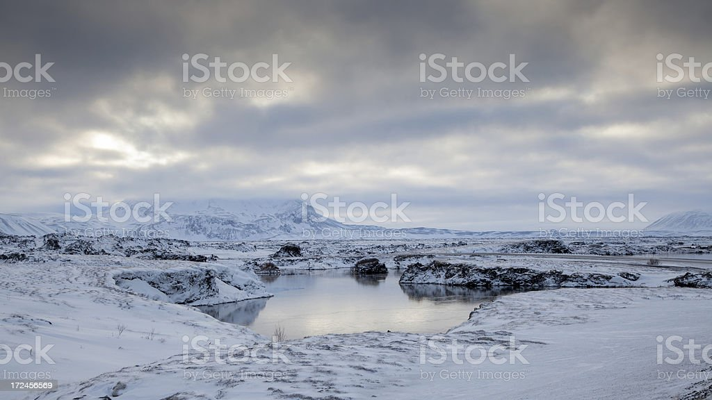 Myvatn Iceland royalty-free stock photo