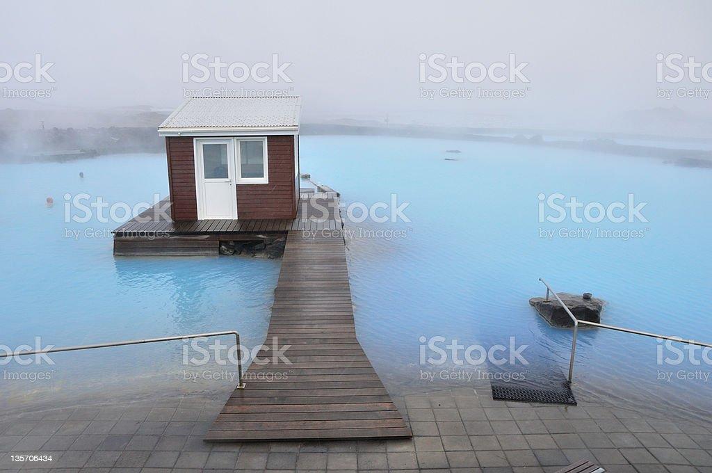 Myvatn Natural baño - foto de stock