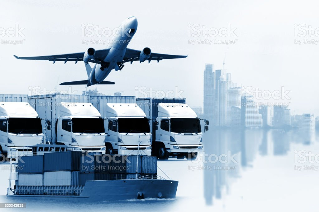 'n logistic import export, Business logistics concept'n stock photo