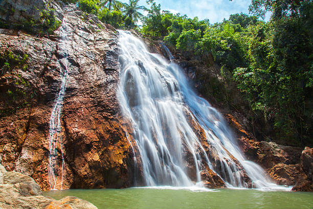 Na Muang einem Wasserfall, Koh Samui, Thailand – Foto