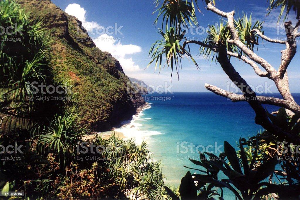 Na Pali Coast (2) stock photo