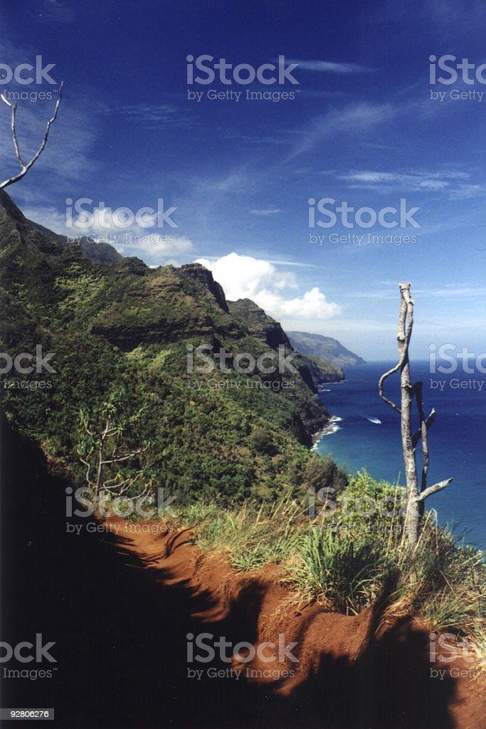 Na Pali Coast (3) stock photo