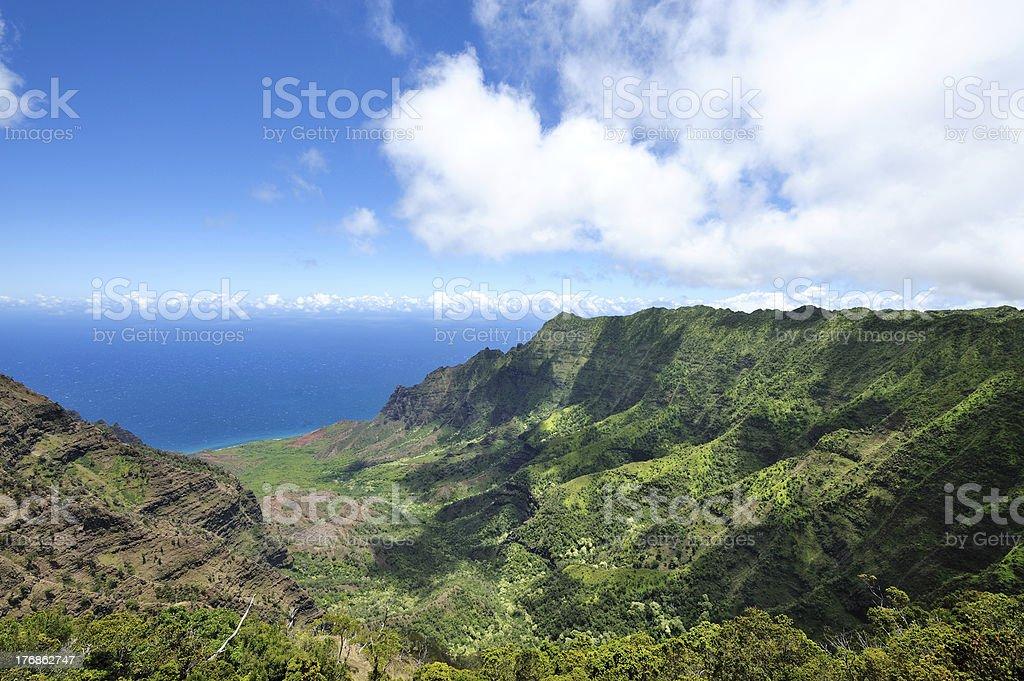 Na Pali Coast State Park stock photo