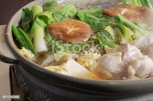 Japanese hot pot dish - nabe or nabemono