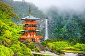 Nachi, Japan Pagoda and Waterfall