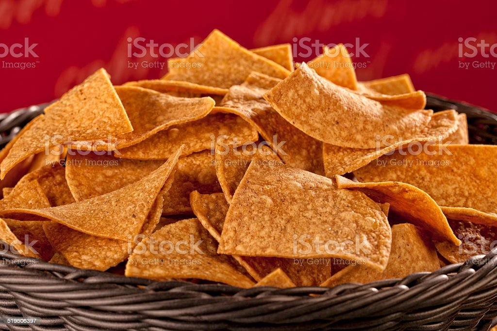 Nacho Chips stock photo
