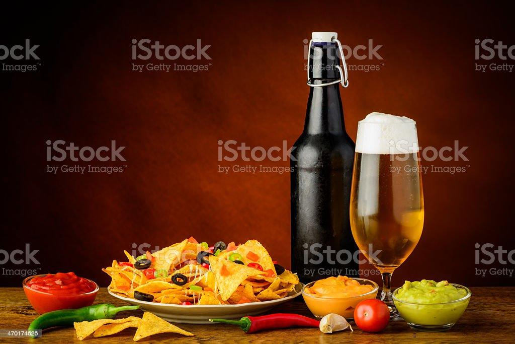 nacho tortilla chips Stillleben – Foto
