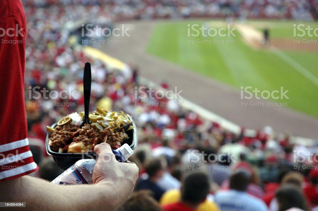 Nachos & Sports stock photo