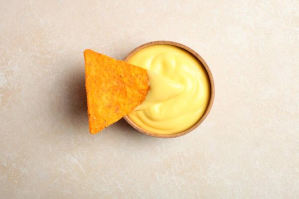 nachos stock photo