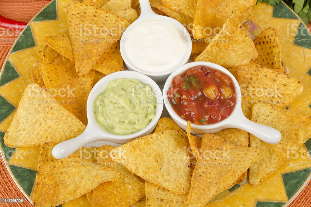 Nachos royalty-free stock photo