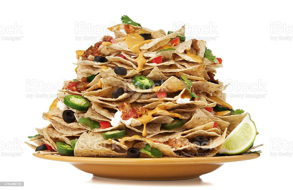 Nachos stock photo