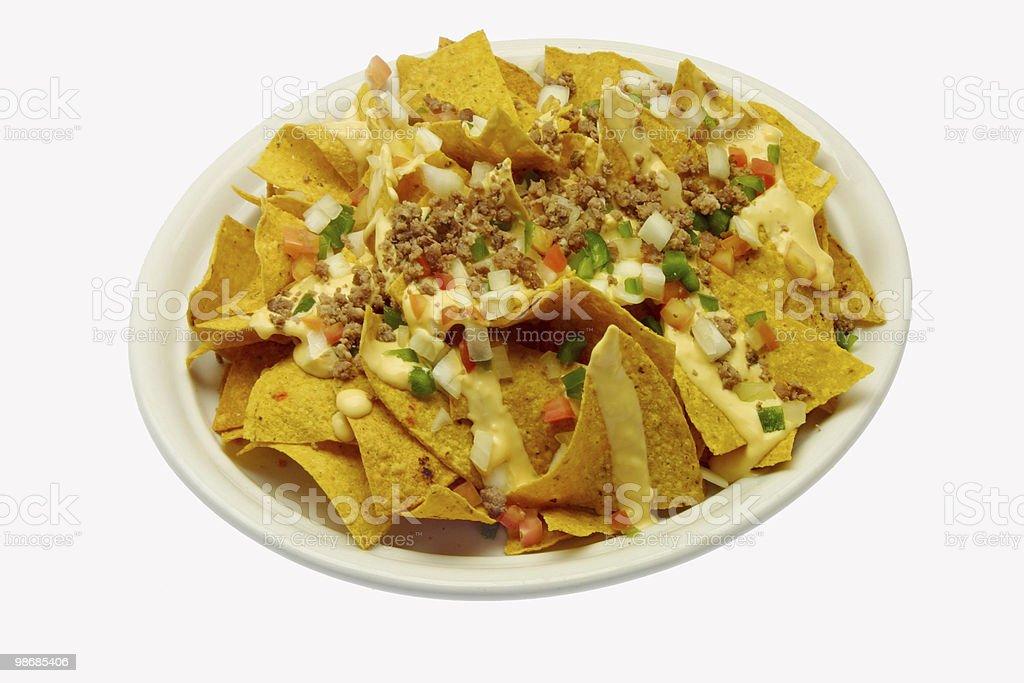 nachos royalty-free stock photo
