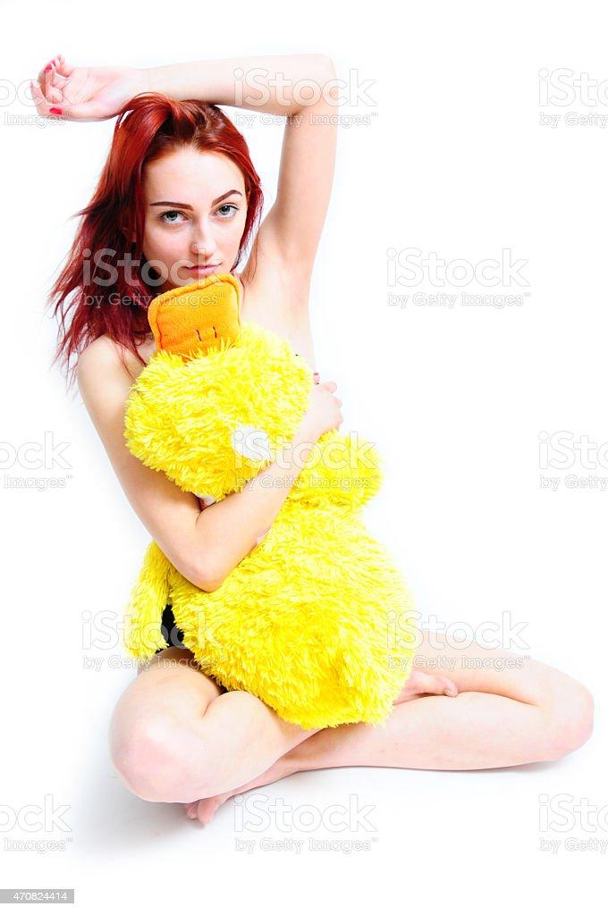 Real women girl bath photo